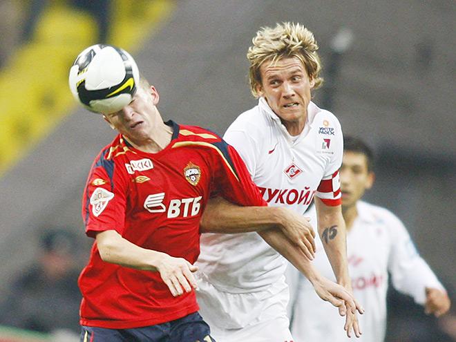 Радослав Ковач в матче против ЦСКА