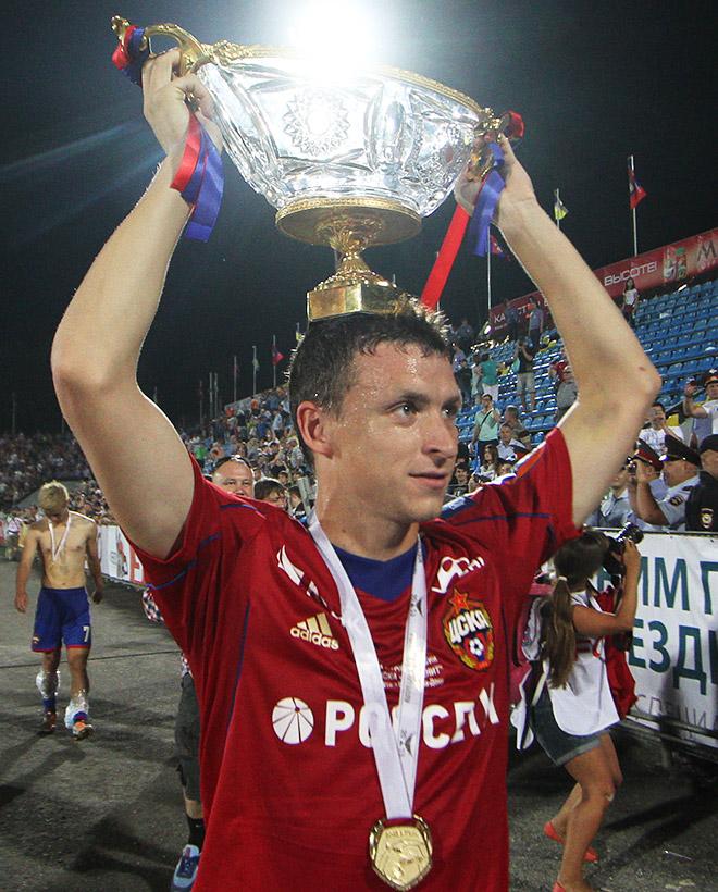 Павел Мамаев в составе ЦСКА
