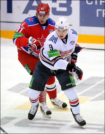 Виктор Антипин против ЦСКА