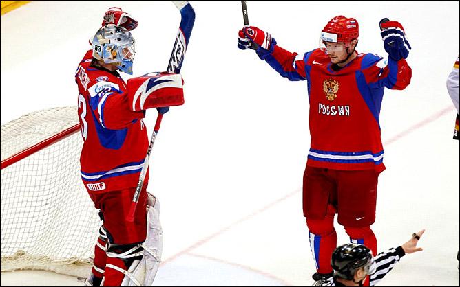 22.05.2010. ЧМ-2010. 1/2 финала. Россия - Германия - 2:1. Фото 09.