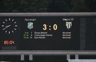 Увы, счёт первого матча УЕФА аннулировал