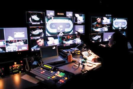 2011 PCA, комната вещания