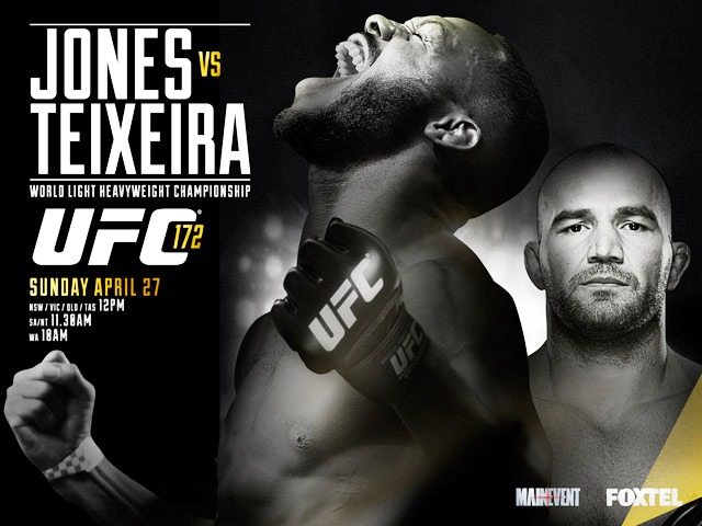 Постер к турниру UFC 172