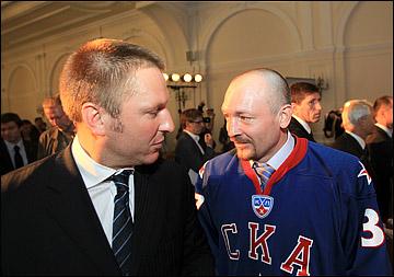 Максим Соколов и Дариус Каспарайтис