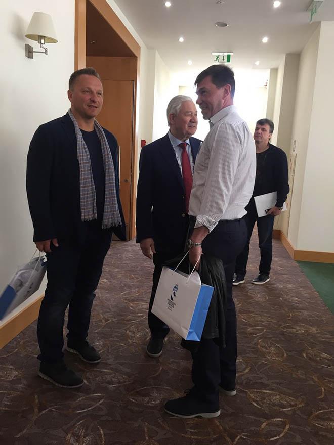 Дарюс Каспарайтис и Владимир Юрзинов-старший