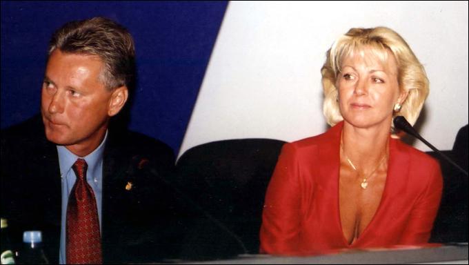 Ленид Буряк с женой Жанной Васюрой