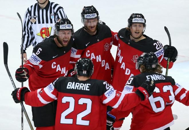 Сборная Канады — чемпион мира 2015 года