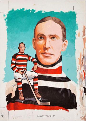 Харви Пулфорд на открытке начала XX века