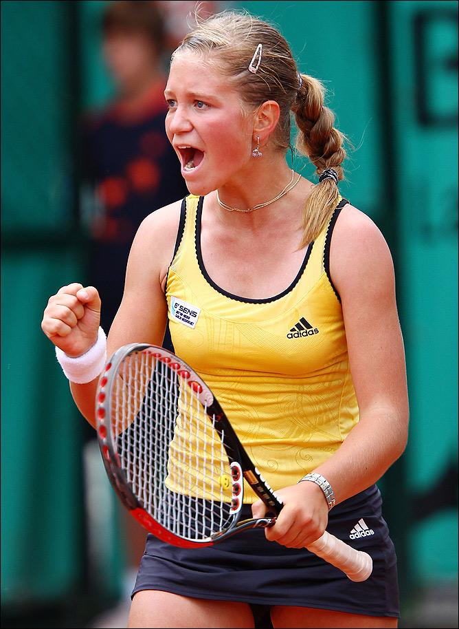 Ирина сумела победить в парном юниорском разряде