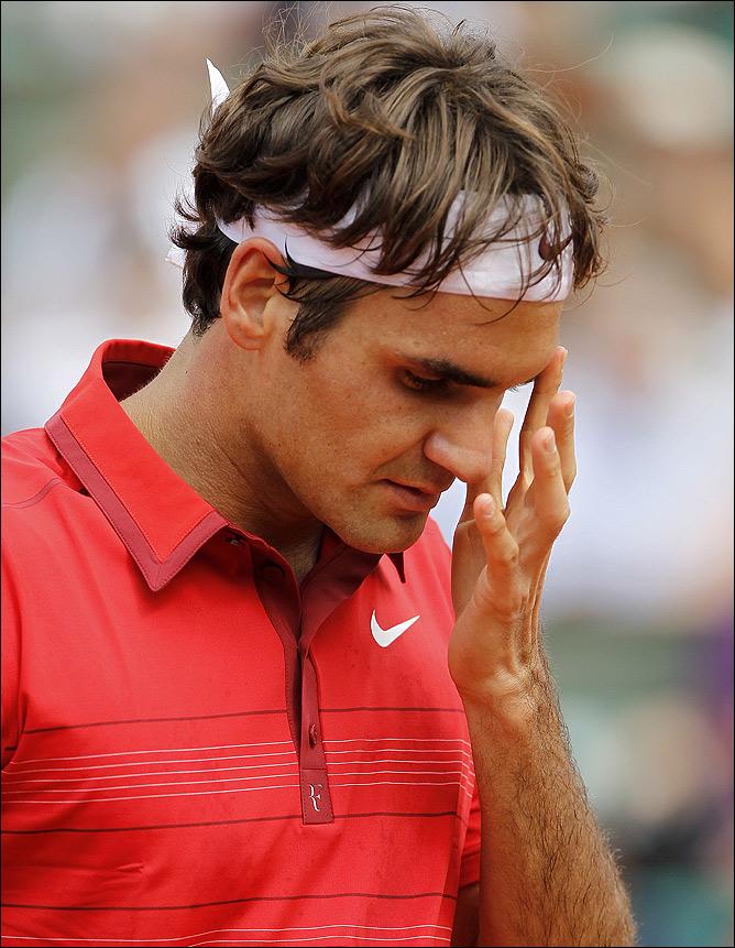 Роджер удивил многих, уверенно дойдя до финала