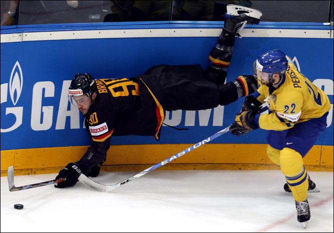 23.05.2010. ЧМ-2010. Матч за 3-е место. Швеция - Германия - 3:1. Фото 02.