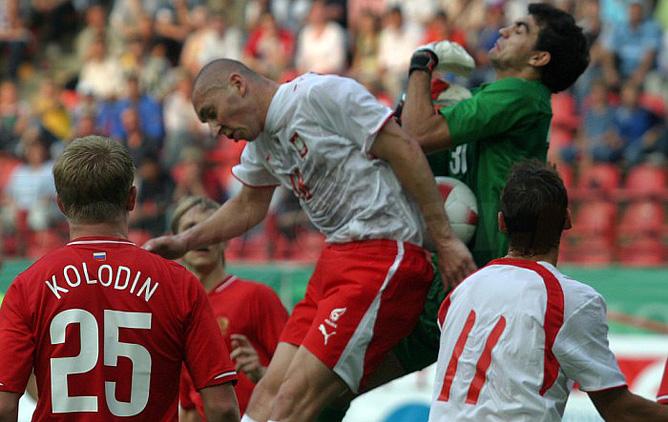 Последний раз Россия и Польша играли осенью 2007 года