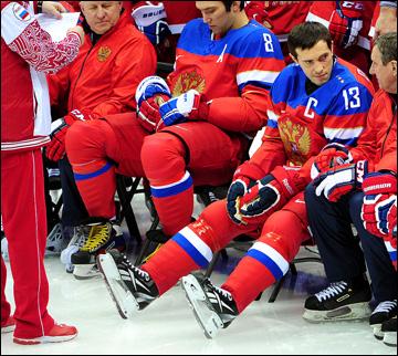 Павел Валерьевич уже на льду