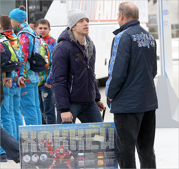 Третьяк проводил российских хоккеистов