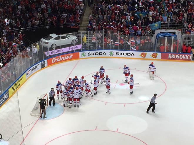 Победа сборной России