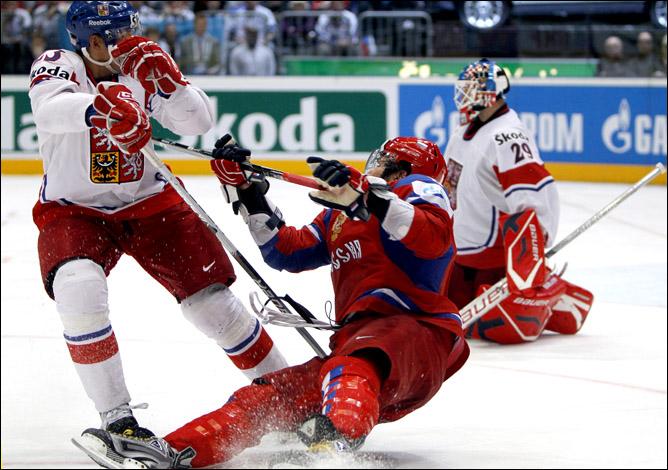 23.05.2010. ЧМ-2010. Финал. Россия - Чехия. Фото 01.