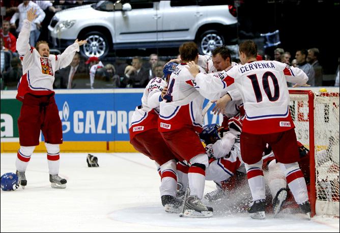 23.05.2010. ЧМ-2010. Финал. Россия - Чехия. Фото 04.
