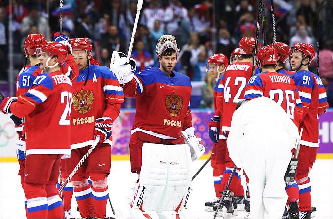 Успешный старт мужской хоккейной сборной России