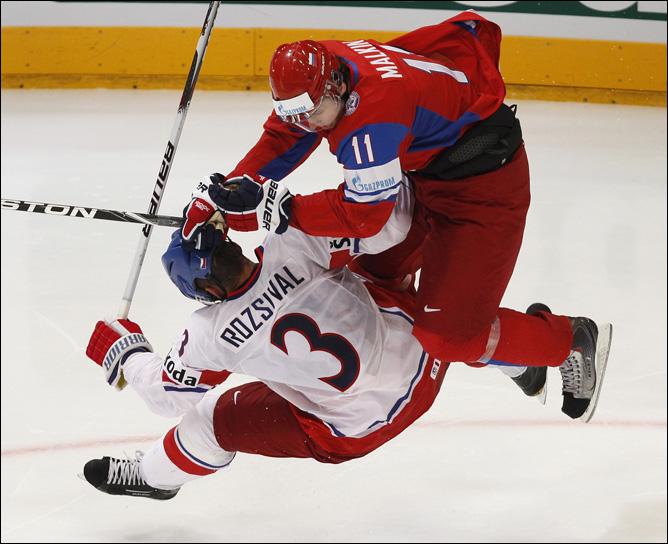 23.05.2010. ЧМ-2010. Финал. Россия - Чехия. Фото 08.