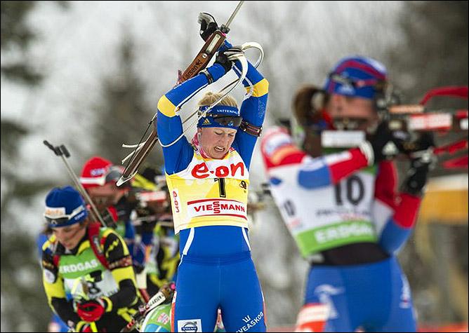 Хелена Экхольм и с новой фамилией воцарилась на биатлонном Олимпе