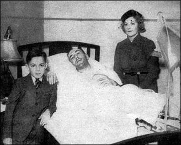 Хоуи Моренц с семьей