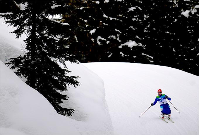 На паралимпийской дистанции Ванкувера Мария Иовлева
