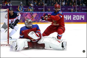 Семён Варламов отбил в матче всё и еще два буллита