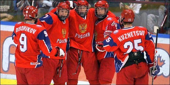 Ещё год другой назад будущие покорители Баффало составляли костяк юниорской сборной России.