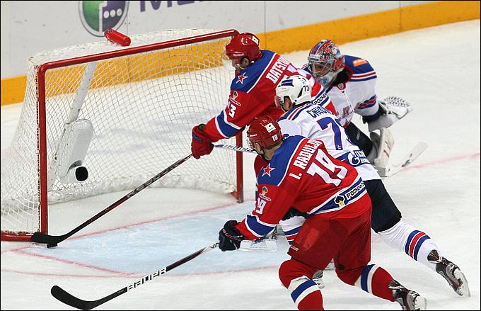 На этот раз гол Павла Дацюка победить ЦСКА не помог