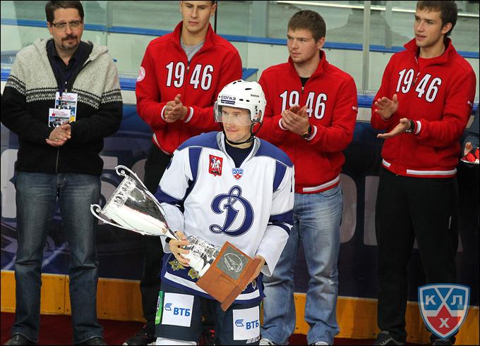 Константин Горовиков с кубком мэра Москвы