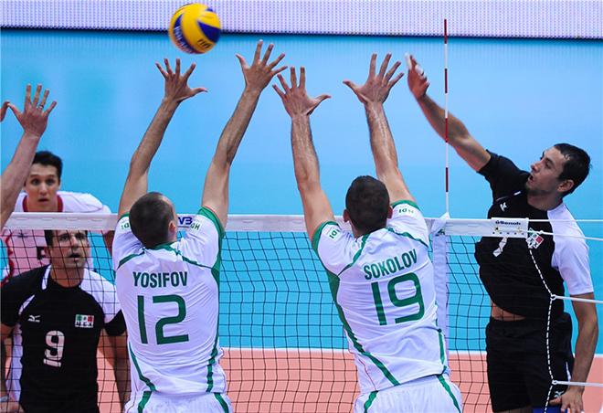 Болгария набрала первые три очка