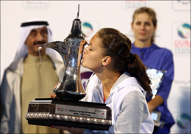 Агнешка Радваньска оформила 8-й титул в Дубае