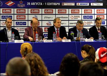Пресс-конференция, посвящённая старту турнира