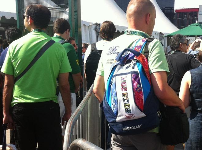 Рюкзак из Сочи