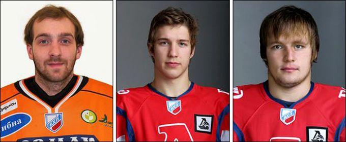 Алексей Иванов, Владислав Воробьев и Ян Красовский