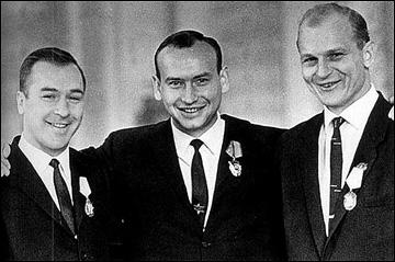 Константин Локтев, Александр Альметов и Вениамин Александров