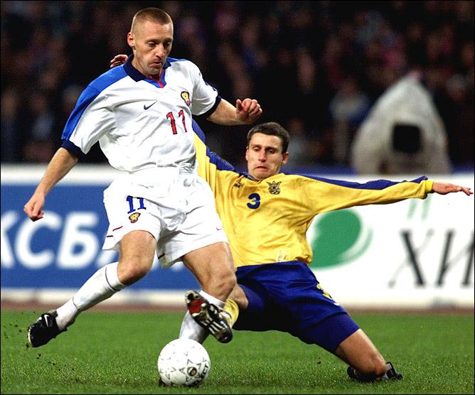 В этой форме сборная Россия обыгрывала Францию и упускала победу над Украиной в 1999-м.