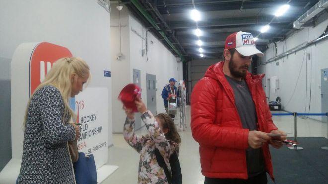 Вячеслав Войнов с семьёй