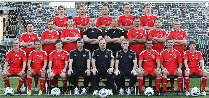 Новая форма сборной России (фото: Константин Рыбин, РФС)