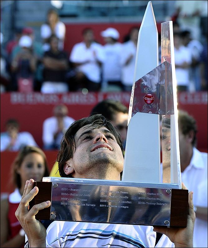 Давид Феррер выиграл второй титул в сезоне