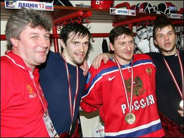 Дмитрий Богдашевский работает и в сборной России