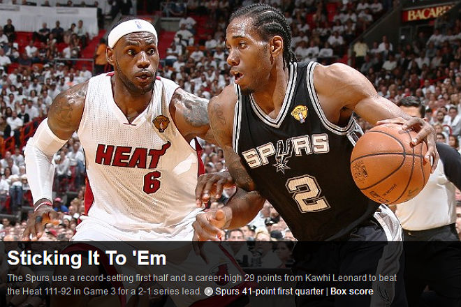 NBA: «Приручив корзину»