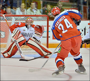 Сборная России (U20) против сборной OHL