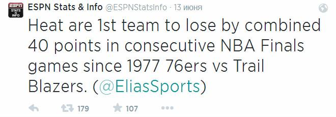 Что до «Хит», то они стали первой командой начиная с 1977 года, которая уступила с общей разницей «+40» и более в двух домашних матчах