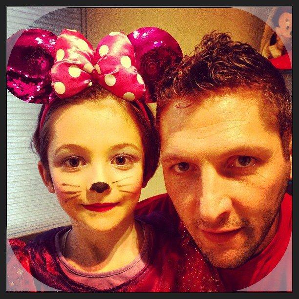 Марко Матерацци с дочерью