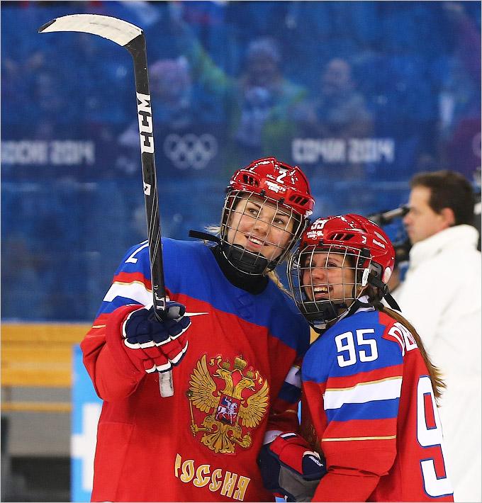 Важная победа женской сборной России по хоккею