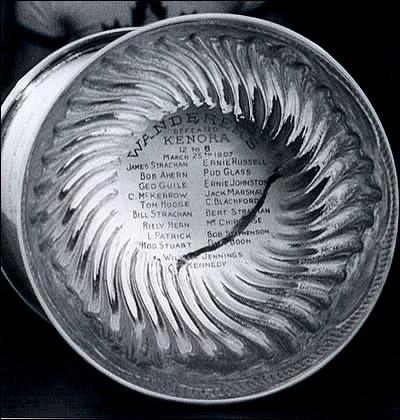 Гравировка на Кубке вызова-1907