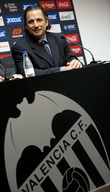 """Новый главный тренер """"Валенсии"""" Хуан-Антонио Пицци"""
