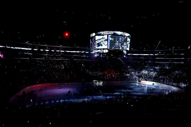 24 мая 2014 года. Лос-Анджелес. Кубок Стэнли. 1/2 финала. Матч № 3. «Лос-Анджелес» — «Чикаго» — 4:3