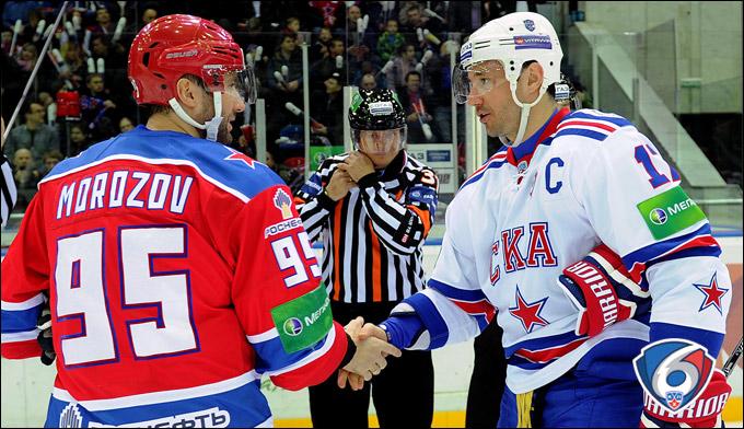 Алексей Морозов и Илья Ковальчук